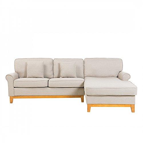 Sofa hellbraun - Couch - Ecksofa - Wohnlandschaft - Eckcouch - Polsterecke - NEXO