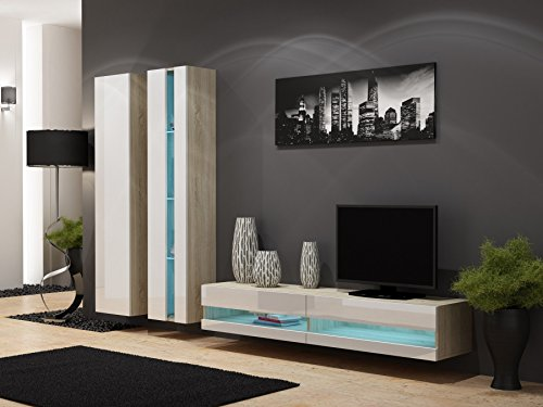 Wohnwand vigo new5 anbauwand wohnzimmer m bel hochglanz for Wohnwand vigo