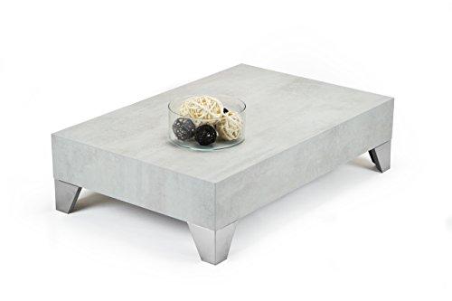 mobilifiver Evolution 90Couchtisch, Holz, Beton, 90x 60x 24cm