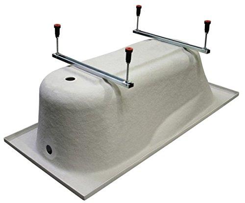 exclusive line eckbadewanne eck acryl badewanne practic 150x70 cm rechts mit sch rze viega. Black Bedroom Furniture Sets. Home Design Ideas