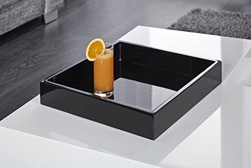 design couchtisch cuebase wei mit integriertem tablett hochglanz wohnzimmertisch tisch 8 m bel24. Black Bedroom Furniture Sets. Home Design Ideas