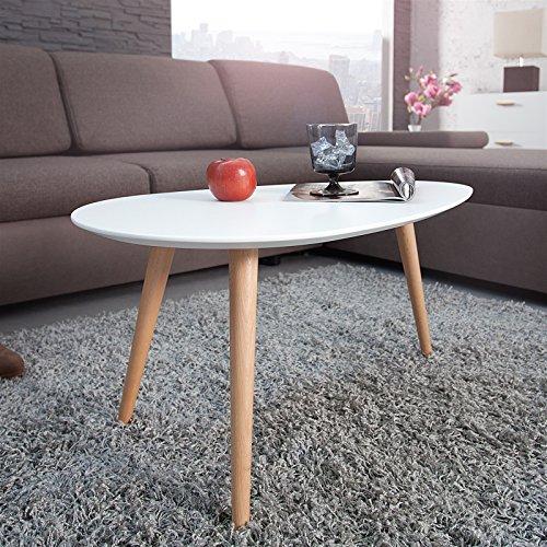 design couchtisch erik wei 75 cm buche nierenf rmig beistelltisch m bel24. Black Bedroom Furniture Sets. Home Design Ideas