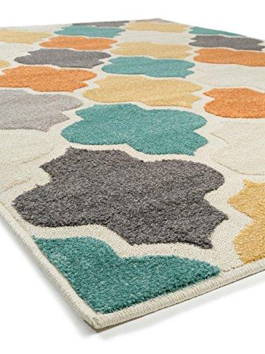 benuta in outdoor teppich summer multicolor 133x190 cm moderner teppich f r wohn und. Black Bedroom Furniture Sets. Home Design Ideas