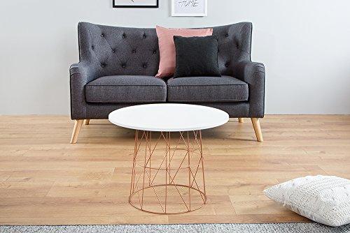 moderner couchtisch beistelltisch wire tea table. Black Bedroom Furniture Sets. Home Design Ideas