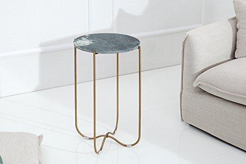 Exklusiver beistelltisch noble aus hochwertig for Wohnzimmertisch marmorplatte