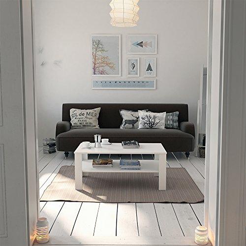 vicco couchtisch wei 100 x 60 cm wohnzimmertisch beistelltisch sofatisch kaffeetisch 5 m bel24. Black Bedroom Furniture Sets. Home Design Ideas