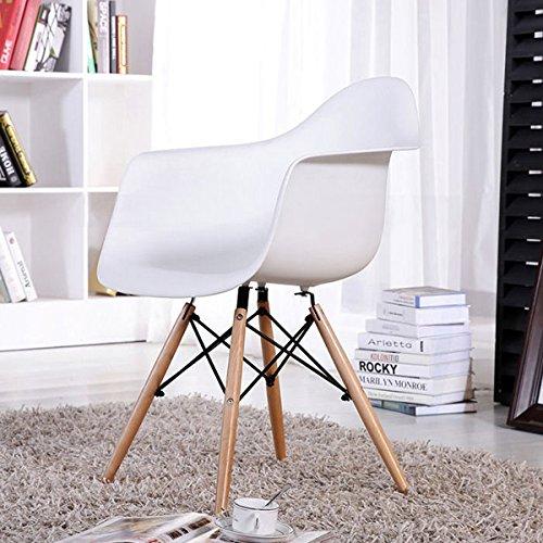 2 x esszimmerst hle mit armlehne ajie retro designerstuhl. Black Bedroom Furniture Sets. Home Design Ideas