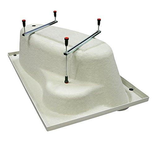 Exclusive line eckbadewanne acryl lilie 150x150 cm 4 m bel24 for Exclusive esszimmertische