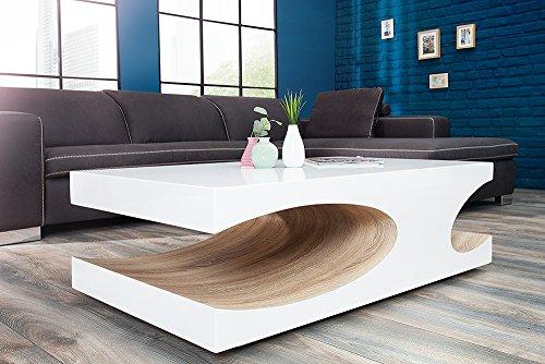 edler couchtisch cube 120cm hochglanz wei holztisch. Black Bedroom Furniture Sets. Home Design Ideas