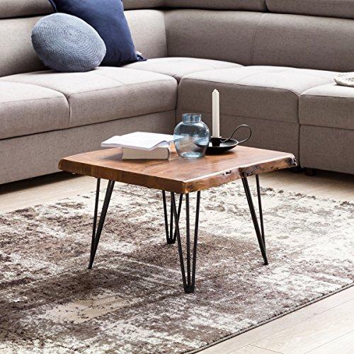finebuy design couchtisch mailo massivholz tisch baumkante 56 x 38 x 51 cm sheesham holztisch. Black Bedroom Furniture Sets. Home Design Ideas