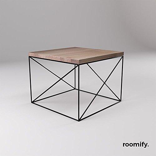 Roomify beistelltisch munio black 55x55 cm m bel24 for Beistelltisch 55x55