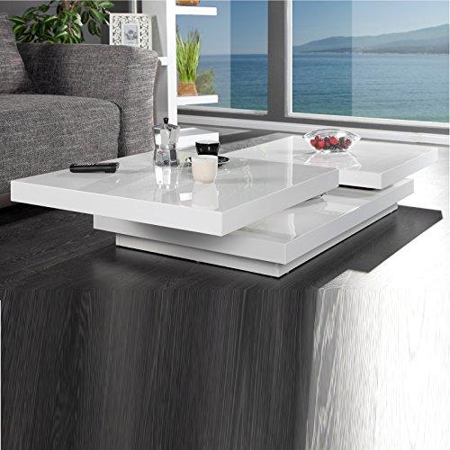 Design couchtisch tekto flexibler wohnzimmertisch mit for Design couchtisch tekto