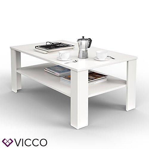 vicco couchtisch wei 100 x 60 cm wohnzimmertisch beistelltisch sofatisch kaffeetisch m bel24