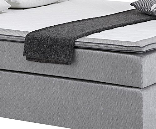atlantic home collection roland boxspringbett liegefl che 180 x 200 cm inklusive topper. Black Bedroom Furniture Sets. Home Design Ideas