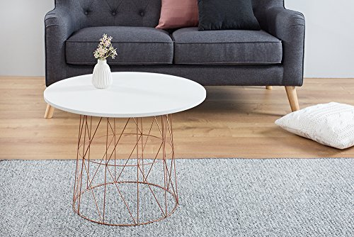 moderner couchtisch beistelltisch wire tea table. Black Bedroom Furniture Sets. Home Design Ideas