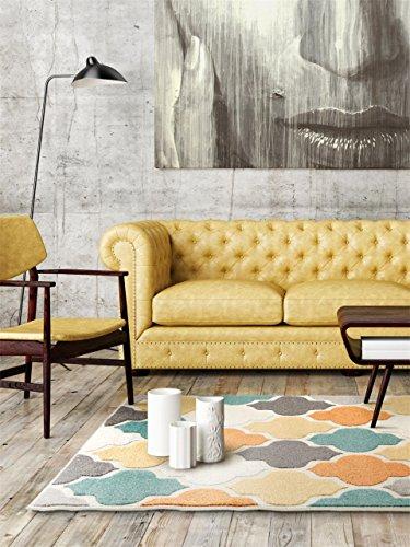 benuta In- & Outdoor-Teppich Summer Multicolor 133x190 cm | Moderner Teppich für Wohn- und Schlafzimmer