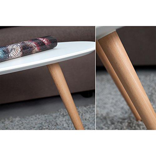 Design couchtisch erik wei 75 cm buche for Designer couchtisch buche