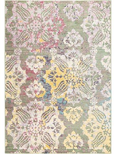 benuta Teppich Visconti Taupe/Rosa 120x180 cm | Moderner Teppich für Wohn- und Schlafzimmer