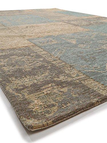 benuta flachgewebe teppich frencie patchwork braun 120x180. Black Bedroom Furniture Sets. Home Design Ideas