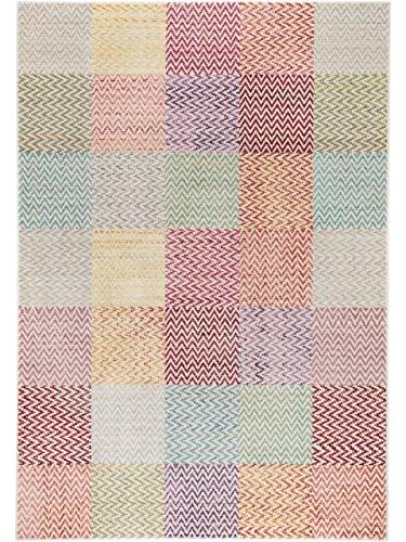 benuta Teppich Visconti Multicolor 120x180 cm | Moderner Teppich für Wohn- und Schlafzimmer