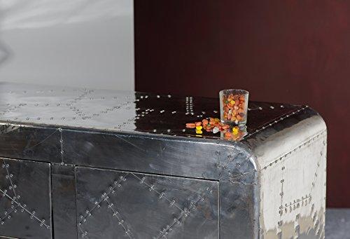 sit m bel 1703 21 sideboard airman 2 t ren 3 schubladen metallauszug mit zierschrauben. Black Bedroom Furniture Sets. Home Design Ideas