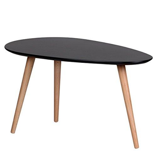 design couchtisch 2er set skandi skandinavischer retro look satztisch matt lackierter. Black Bedroom Furniture Sets. Home Design Ideas