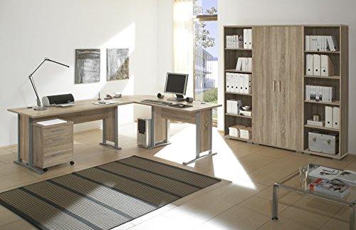b rom bel set office line eckschreibtisch rollcontainer. Black Bedroom Furniture Sets. Home Design Ideas