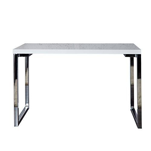 Design laptoptisch white desk 160x60 cm hochglanz wei for Schreibtisch 90 x 60