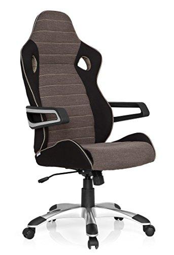 hjh office b rostuhl chefsessel racer pro iv stoff m bel24. Black Bedroom Furniture Sets. Home Design Ideas