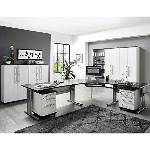 komplett b rom bel set l rche nb eiche havanna. Black Bedroom Furniture Sets. Home Design Ideas