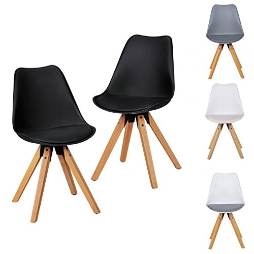 2er set retro esszimmer stuhl ohne armlehne sitzfl che. Black Bedroom Furniture Sets. Home Design Ideas