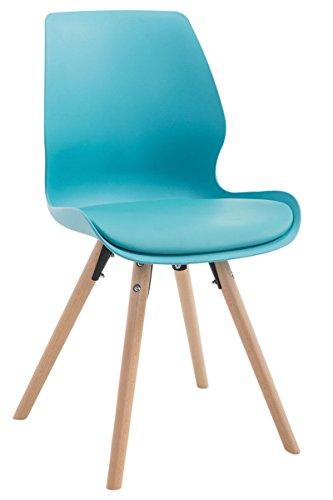 besucherstuhl perth kunststoff natura rund blau m bel24. Black Bedroom Furniture Sets. Home Design Ideas