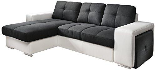 cotta c209661 c310 h350 polsterecke mit schlaffunktion und bettkasten 157 x 278 cm kunstleder. Black Bedroom Furniture Sets. Home Design Ideas