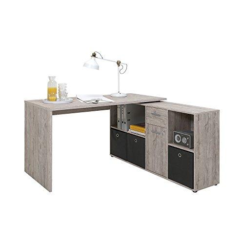 FMD Möbel Lex Schreibtisch-Winkelkombination