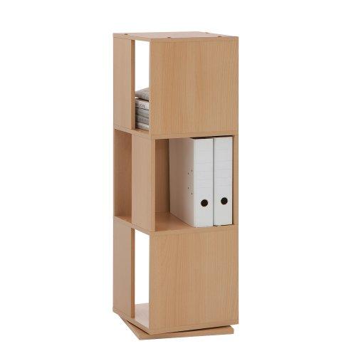 "FMD ""Turm schwenkbar 3-Tier-Aufbewahrung, Holz"