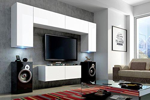 Future 2 zeitnah wohnwand wohnzimmer m belset anbauwand for Exklusive wohnwand