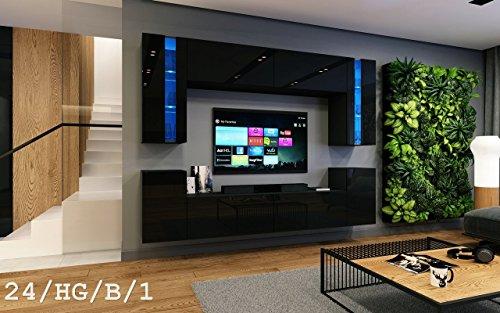 future 24 wohnwand anbauwand wand schrank. Black Bedroom Furniture Sets. Home Design Ideas