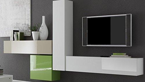 h nge element 1 t rig box 139 x 29 x 31 cm wei hochglanz m bel24. Black Bedroom Furniture Sets. Home Design Ideas
