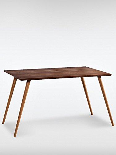 modern vintage tisch truva braun tisch massivholz 130 x 75 x 80 m bel24. Black Bedroom Furniture Sets. Home Design Ideas