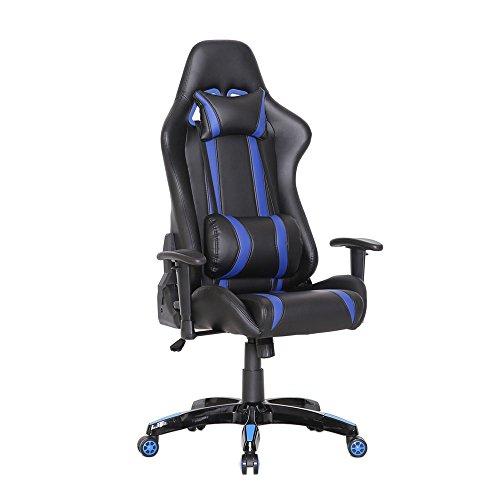 Racing Bürostuhl Chefsessel Gaming Stuhl Racer Stuhl