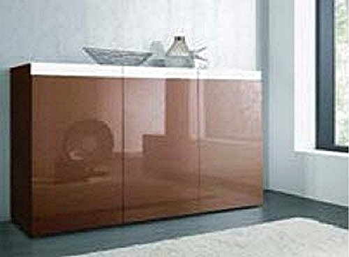 sideboard wohnzimmer schrank wei cappuccino hochglanz neu 388277 m bel24. Black Bedroom Furniture Sets. Home Design Ideas
