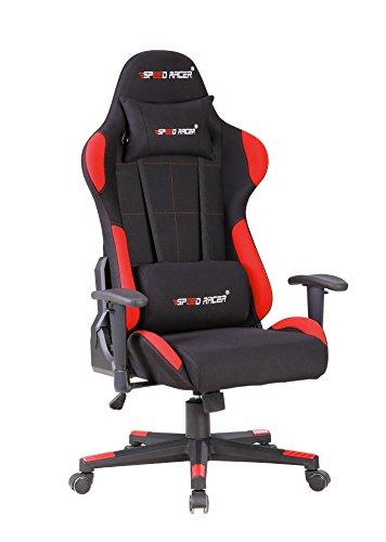 speed racer gaming stuhl inklusive 2 kissen. Black Bedroom Furniture Sets. Home Design Ideas