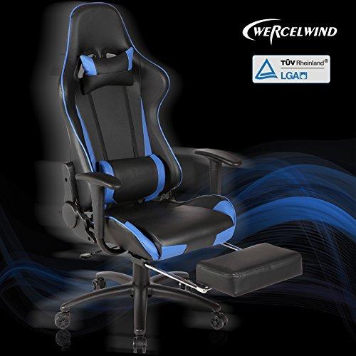 uenjoy racer x gaming stuhl b rostuhl schreibtischstuhl. Black Bedroom Furniture Sets. Home Design Ideas