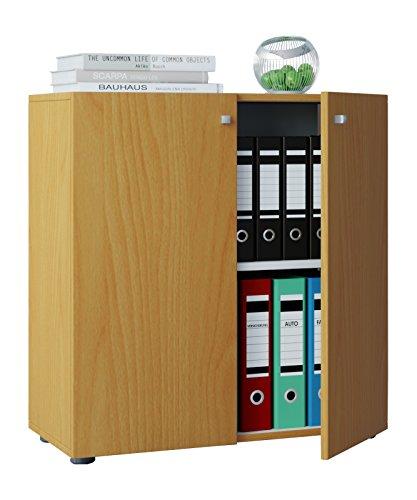 """VCM Büroschrank Aktenschrank Bücherregal Universal Schrank Regal """"Vandol Mini"""""""