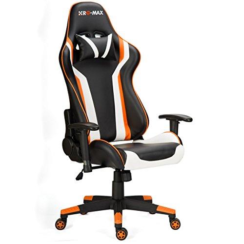 rg max pro liegend sport racing gaming stuhl b ro schreibtisch pc kunstleder stuhl m bel24. Black Bedroom Furniture Sets. Home Design Ideas