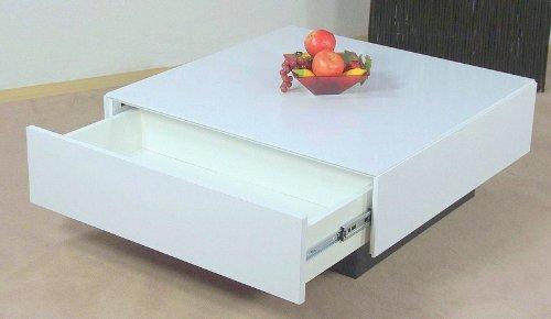 couchtisch wei hochglanz tisch wohnzimmertisch sofatisch schubkasten modern m bel24. Black Bedroom Furniture Sets. Home Design Ideas