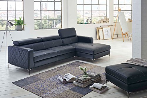 SAM® Design Schlafsofa Dario in anthrazit rechts