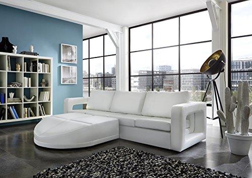Sam sofa garnitur wei doccia 200 x 270 cm links designed for Wohnlandschaft 270 cm