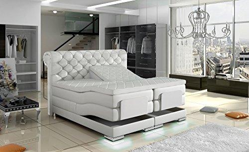 xxl manchester boxspringbett mit elektrischer liegefunktion designer boxspring bett chesterfield. Black Bedroom Furniture Sets. Home Design Ideas