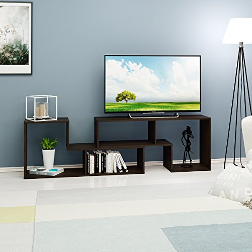 DEVAISE 2-Piece TV Unit